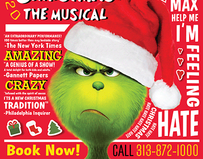 Grinch The Musical Poster