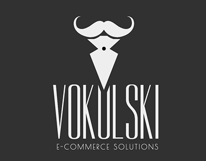 Vokulski E-commerce Solutions Logo design