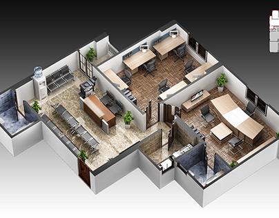 3d Office   Egypt
