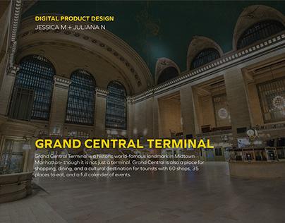 Grand Central Terminal Wayfinding