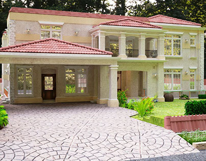 Traditional Classical Designed Bungalow