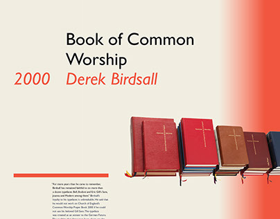Book of Common Worship Poster