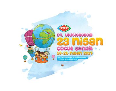 39. Uluslararası 23 Nisan Çocuk Şenliği Konsept Tasarım
