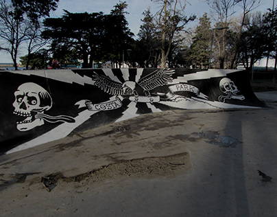 Mural Skatepark Comodoro