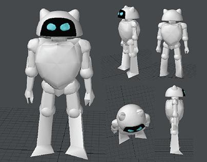 3D MODELLING - Rey Robot