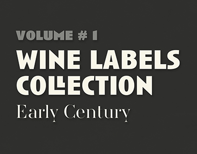Wine Labels Collection #1