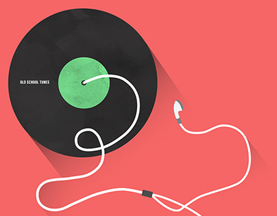 OLD SCHOOL TUNES // ILLUSTRATION