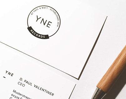 YNE Records - Branding