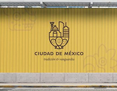 Mexico City Graphic Identity