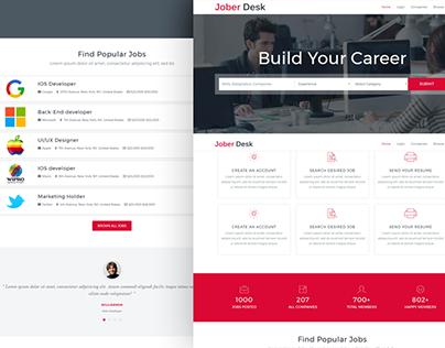 Jober Desk - Job Portal Template