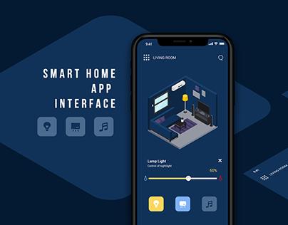 Smart Home App Interface