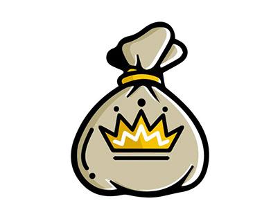 Kings Hustle Icon Logo