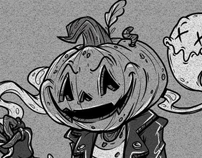 Pumpkinhead Ramone