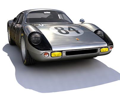 PORSCHE 904 CARRERA GTS MAYA MODEL