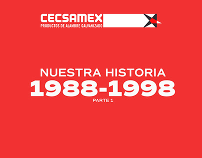 CECSAMEX. Nuestra historia