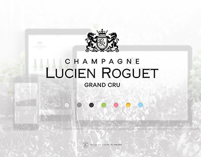 Champagne Lucien Roguet - Website
