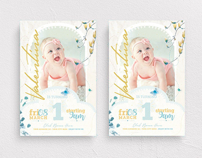 Birthday Invitation Vol.2 Flyer