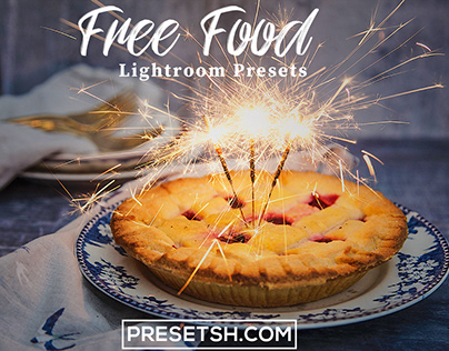 Free Food Photography Lightroom Presets and Mobile