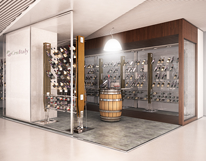 Wine exhibition corner - Beijing China
