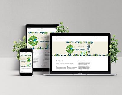 Diseño para página web del GMMM y redes sociales.