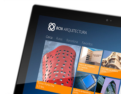 BCN Architecture - Windows 8 APP