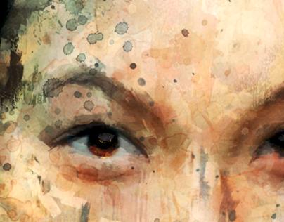 Spatter Portrait