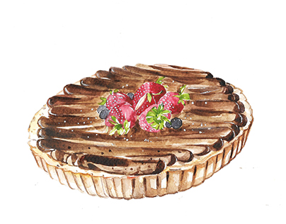 Dessert Illustrations