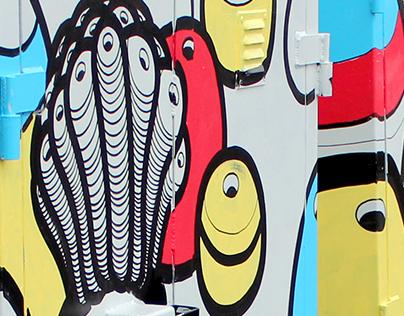 Commission by KiwiRail & Creative Waikato NZ