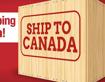 Ship to Canada option.