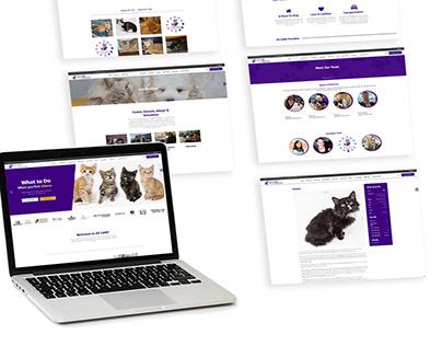 AZ CARE Rescue - Web Site Redesign