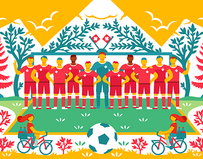 Google World Cup Doodle: Switzerland