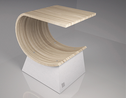 "Coffee table ""TABLE-SHELL"""