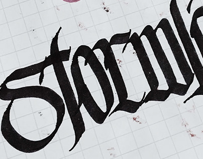 Calligraphy Scraps; Session_1