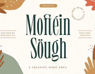 Moftein Sough Display Font