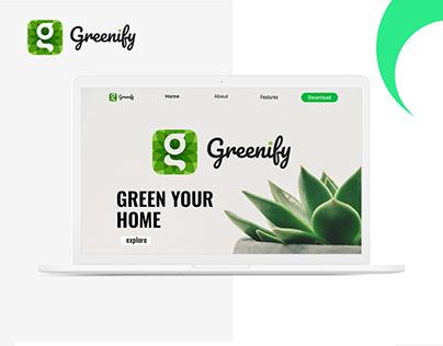 Website- Green app Advertising Page