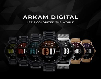 Arkam Digital - colored watchfaces