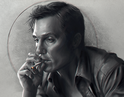 """Rust Cohle """"Time is a flat circle"""""""