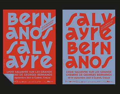 LES RENCONTRES DE CHAMINADOUR - SALVAYRE BERNANOS