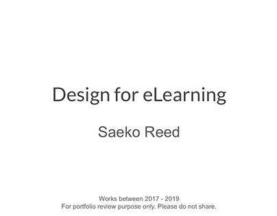 Design for eLearning