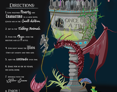 Fairy Tale Infographic