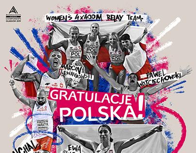 European Athletics Artwork
