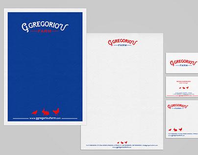 G. GREGORIOU FARM brand identity