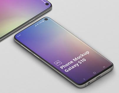 Phone Mockup Galaxy S10