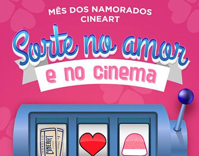 Campanha mês dos namorados Cineart