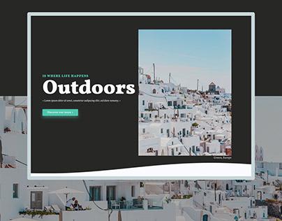 OUTDOORS - Ui & Dev