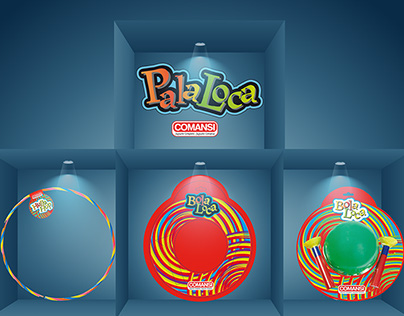 "Logo + Packaging ""Bola Loca"" Comansi"