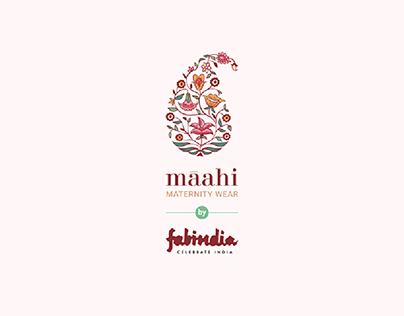 Logo design for Fabindia's Maternity Wear range - Maahi