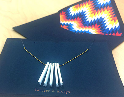 Necklace/Envelope