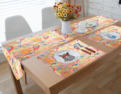 American Modern Tablecloths
