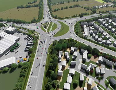 A45/A6 Chowns Mill Junction Improvements